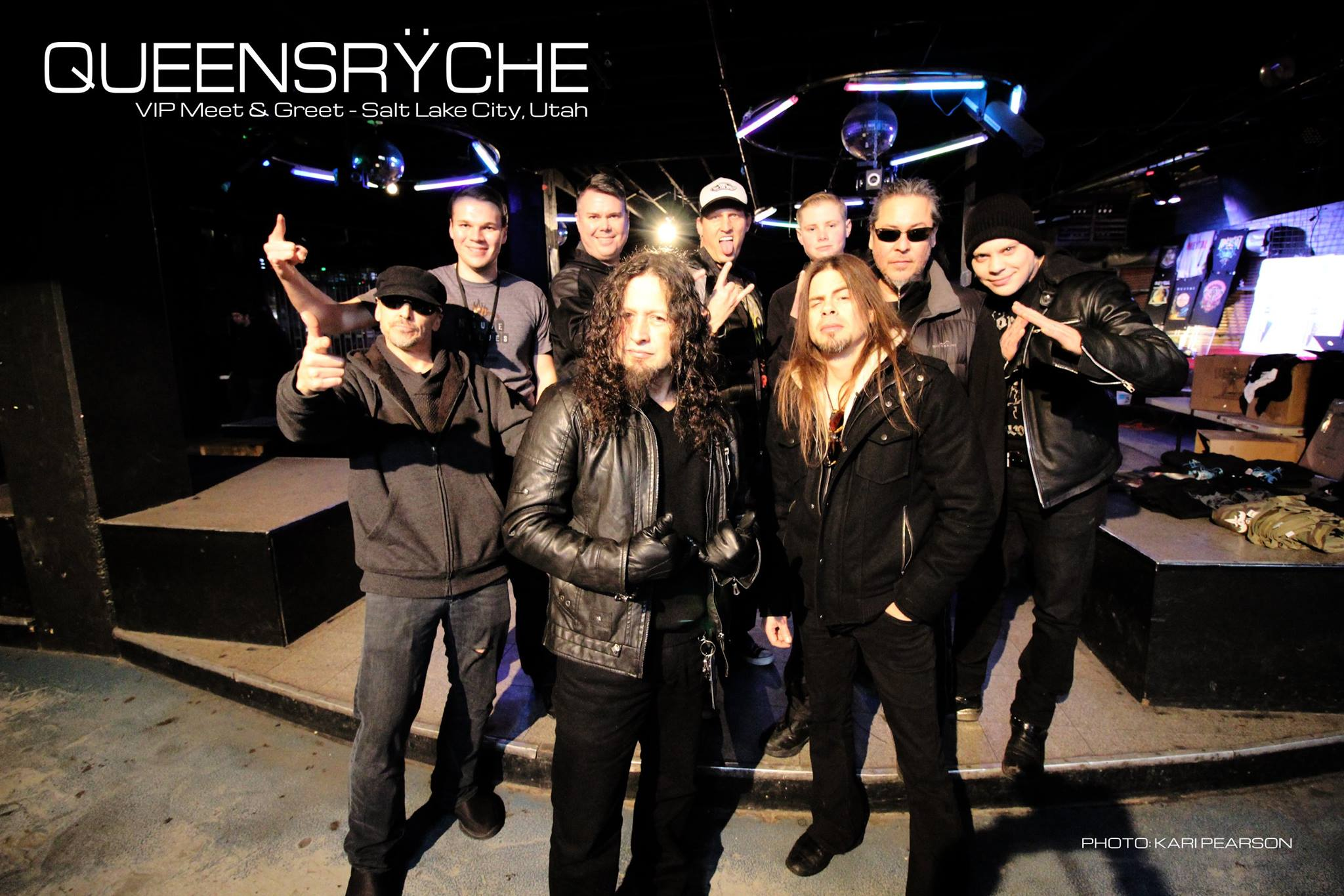 Vip meet and greets queensrche in the venue kristyandbryce Gallery
