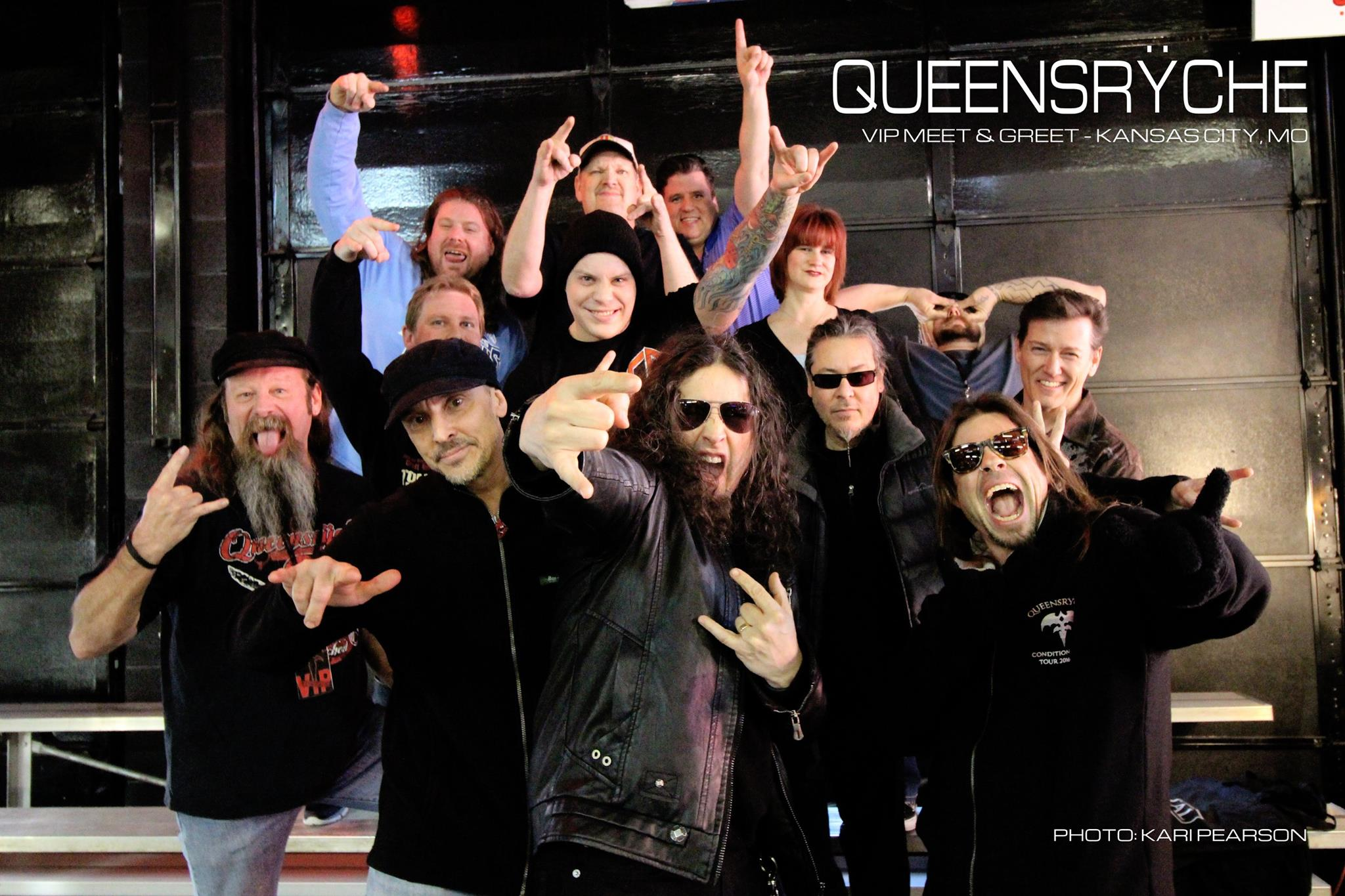 Vip meet and greets queensrche kristyandbryce Choice Image